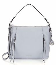 Michael Kors Corinne Leather Large Shoulder Tote Bag (Dove Grey)