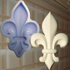 lepnina Gießform Stuck Französische Lilie Dekor Ornament Relief Decken (119)