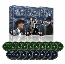 Sherlock Holmes Complete Collection 16 Disc Box Set Dvd Jeremy Brett Conan Doyle