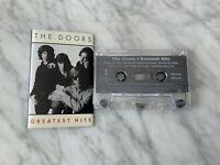 The Doors Greatest Hits CASSETTE Tape 1996 Elektra 61996-4 Jim Morrison Manzarek