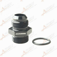 AN-12 AN12 Male Flare To AN12 12AN Straight O-Ring Adapter Fitting Black