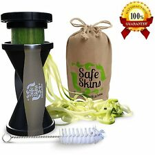 Safe Skins Spaghetti Strand Veggie Spiral Slicer w/Eco Friendly Bag&Instructions