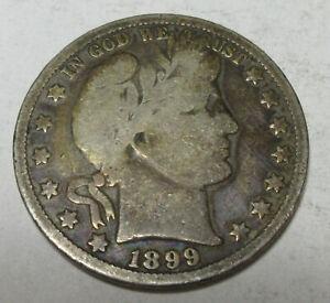 1899-O Barber Half (#720N)