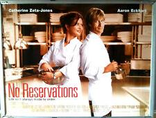 Cinema Poster: NO RESERVATIONS 2007 (Quad) Catherine Zeta Jones Aaron Eckhart