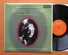 LXT 6146 Strauss Der Rosenkavalier Regine Crespin 1964 Decca Mono VG/VG + insert