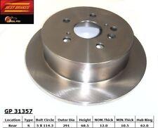 Disc Brake Rotor-Disc Rear Best Brake GP31357 fits 2004 Toyota Sienna