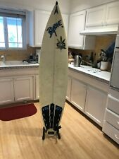 Surfboard stand space-saving freestanding vertical