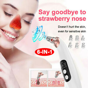 Electric Facial Skin Care Pore Blackhead Remover Cleaner Vacuum Acne Cleanser