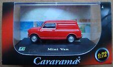 CARARAMA® Mini Van red NEU! 1:72 TOP!