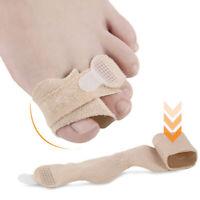 Toe Finger Straightener Hammer Toe Corrector Bandage Toe Separator Splintwrap JE