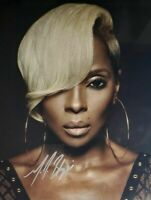 Mary J Blige Autographed Signed 8x10 Photo REPRINT