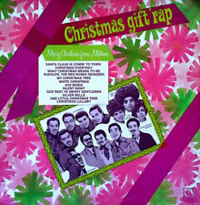 MOTOWN LP - XMAS GIFT RAP - V.A. LP - TEMPTATIONS, SUPREMES, STEVIE WONDER