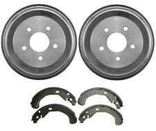 Brembo Rear Drums and Shoes Brake Kit for Chevrolet Cobalt HHR Pontiac G5 5 Lugs