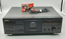 Teac V-3000 3 Head, 2 Motor Dolby S, Stereo Cassette Deck - Tested Working