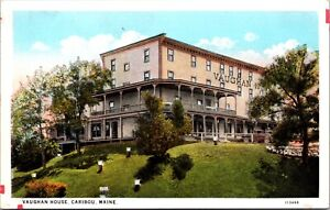 Postcard Vaughan House in Caribou, Maine~135472