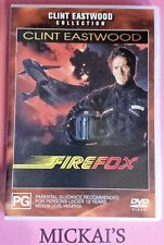 FIREFOX - CLINT EASTWOOD COLLECTION #11219 WARNER BROTHERS DVD PAL Rare OOP