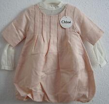 Chloe niños c12004/45b chica vestido túnica Kids 10 años talla 134 nuevo con etiqueta