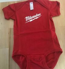 "Milwaukee Baby Infant Toddler Bodysuit Size 12 months ""Nothing But Heavy Doody"""