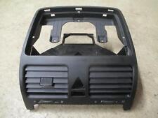Lüftungsdüsen mittig VW Golf 5 GTI R32 Schwarz Luftausströmer mitte 1K0819743B