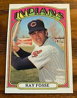 1972 Topps #470 Ray Fosse - Indians