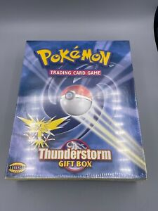 """Vintage Pokemon Thunderstorm Gift Box """"Factory Sealed & in NM+ Condition"""" RARE"""