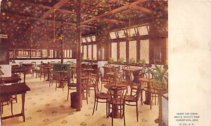 H66/ Youngstown Ohio Postcard c1916 Interior Arbor Burt's Quality Shop 160