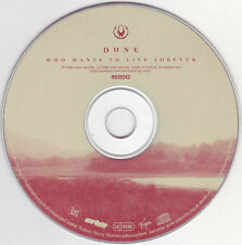 Dune-Who Wants To Live Forever ° MAXI-SINGLE-CD da 1996 °, quasi come nuovo °