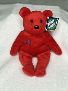 Salvino's Bamm Beanos Sammy Sosa #21 Red Beanie Chicago Cubs 1998 MLB
