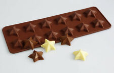 12 cell MAGIC STAR Stars Chocolate Candy Silicone Mould Cake Wax Melt Resin Ice