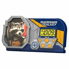 Guardians of the Galaxy Night Glow Alarm Clock