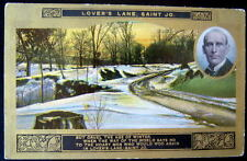 1900's Lovers Lane Saint Joseph Missouri