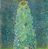 ART PRINT - The Sunflower, c. 1906-1907 by Gustav Klimt 12x12 Poster
