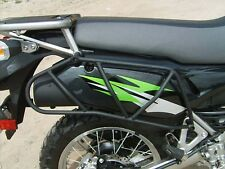 2008-newer KLR 650 Side Utility Racks KLR650 BLACK