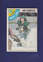 Jim Roberts 1978-79 O-PEE-CHEE OPC Hockey #342 (EXMT) Minnesota North Stars