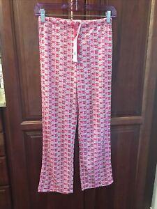 NWT S 7 8 Vineyard Vines Pink Whale Girls Pajama Lazy Pants $39