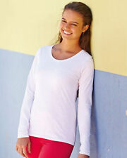 Girls' Crew Neck Long Sleeve Sleeve 100% Cotton T-Shirts, Top & Shirts (2-16 Years)