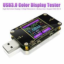 Innovateking-EU Tester di Tensione USB e misuratore Corrente voltometro...