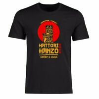 Men t shirt Funny Japan Hattori Hanzo Graphic Tee Shirt Cotton Short Sleeve Top