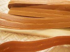 elastique VINTAGE chair rosé  3 mètre sur 1,8 cm coeur ajouré A1