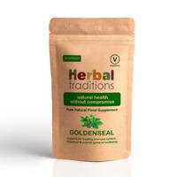 Herbal Traditions Goldenseal Root Capsules - Vegetarian