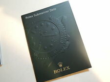 Italy ♛ Authentic R0LEX ♛ 2010 Submariner Watch Manuals & Guides Booklet