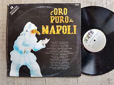 L'oro puro di Napoli - Mario Abbate, Murolo, Cigliano...  LP canzone napoletana