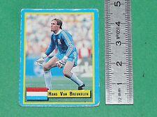 VAN BREUKELEN NEDERLAND PSV EINDHOVEN FOOTBALL 1989-1990 VALLARDI CARD PANINI