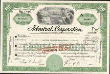 DECO => ADMIRAL Corporation (DELAWARE - USA) (R)