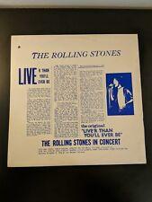 The ROLLING STONES-Live'r Than You'll Ever Be-REC.Nov.9,1969.Vinyl LP-4045/4054