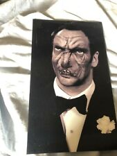 Halloween Holographic Photo Portrait Man Changing Picture Haunted house Scary