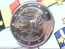 2 euro 2007 SLOVENIA Trattato Roma rome rom slovenie ToR Slowenien Eslovenia