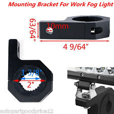 "2xCar Pickup Fog Light Holder 1.5"" 2"" Tube Clamp Roof Roll Cage Mounting Bracket"