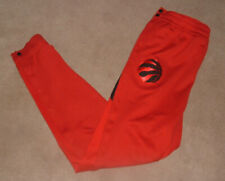 Nike NBA Toronto Raptors Showtime Therma Flex Tearaway Snap Button Pants Sz XL