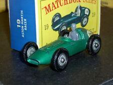New ListingMatchbox Lesney Aston Martin Dbr5 19 c4 repl drv Wwh Bpt Sc1 Exc & crafted box